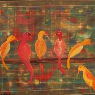 6 Birds at Rest